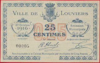 louviers-caisse-municipale-25-centimes-1916