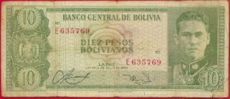 bolivie-10-pesos-1962-50769