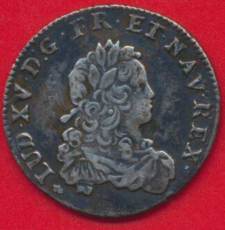 louis-xv-tiers-ecu-1721-h-la rochelle-vs
