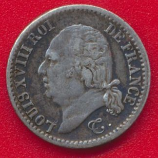 louis-xviii-quart-franc-1822-b