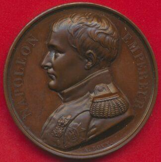 medaille-napoleon-empereur-bovy-memorial-sainte-helene-1840