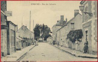 cpa-etriche-rue-du-calvaire