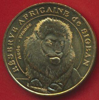 medaille-monnaie-paris-sigean-lion-2006