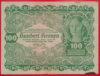autriche-100-kronen-1922-1034