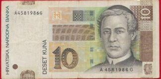 croatie-10-kuna-2001-1986