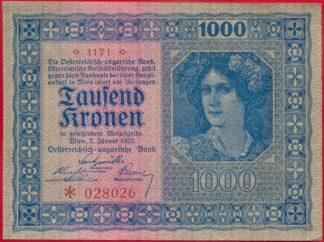 autriche-1000-kronen-1922-8026