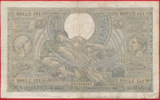 belgqiue-100+-francs-20-belgas-31-10-42-0451