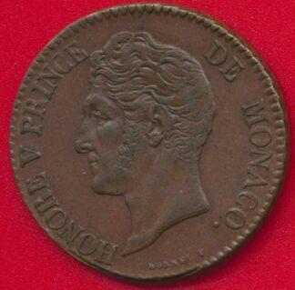 monaco-5-centimes-honorev-1837-mc