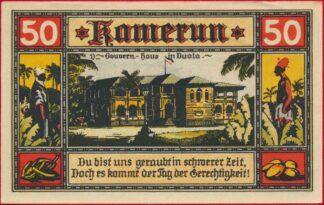 allemagne-colonies-kamerun-50-aprill-1922