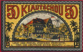 allemagne-colonies-kiautschou-50-pfennig-april-1922