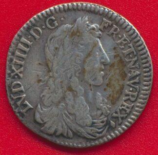louis-xIv-10-eme-ecu-meche-longue-1661-&-aix
