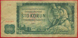 tchecoslovaquie-100-korun-1961-2167-vs