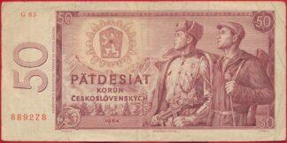 tchecoslovaquie-50-korun-1964-9278