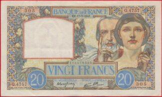 20-vingt-francs-science-travail-17-7-1941-5305