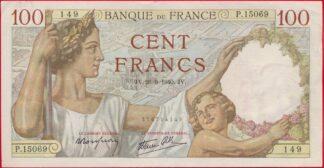 100-francs-sully-26-9-1940-4149-vs