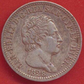 italie-sardaigne-lire-1828-charles-felix