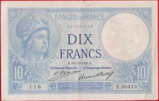 10-francs-minerve-10-11-1926-1116