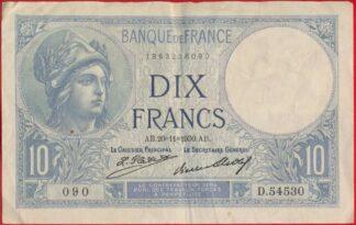 10-francs-minerve-20-11-1930-8090