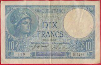 10-francs-minerve-6-3-1918-1299