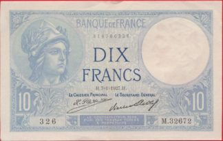 10-francs-minerve-7-1-1927-2672