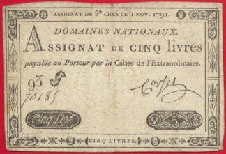assignat-cinq-5-livres-1-novembre-1791-93