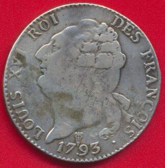 louis-xvi-ecu-six-livres-6-1793-k-bordeaux