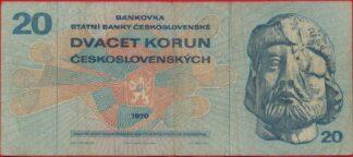 tchecoslovaquie-20-korun-1970-2267